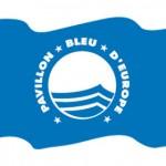 blue flag for beach quality guaranty