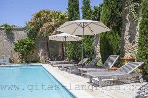 piscine de vacances