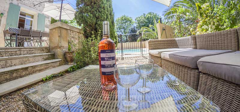 sarah house vacation rental private pool Serignan Occitanie