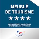 Four stars rating atout France
